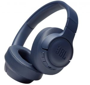 JBL Tune 700BT by Harman Over-Ear Wireless Headphones with 27-Hour Playtime, Multi Point Connection & Quick Charging (Blue)