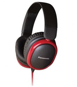 Panasonic - RP-HBD250 Extra bass Over-Ear Headphones with Tangle Free Cables