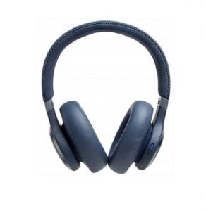 JBL Live 650BTNC by Harman Wireless Over-Ear Noise-Cancelling Headphones with Alexa (White)