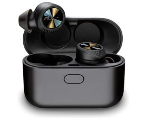 Plantronics BackBeat Pro 5100 True Wireless Earbuds with Four Noise Cancelling Mics Sweat Resistant IP54 Dust and Water Resistant