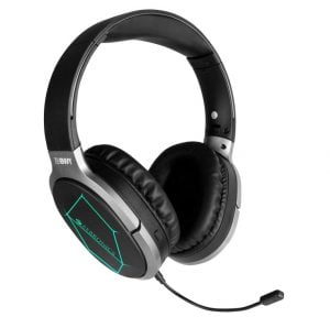 Zebronics Zeb-Envy Bluetooth Headphone with 33hrs Playback time, 3 Led Modes and Detachable Mic
