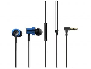 Mi Dual Driver in-Ear Earphones with Mic and Tangle-Free Cable(Blue)