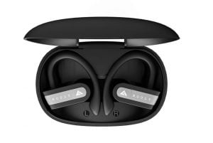 Boult Audio AirBass MuseBuds True Wireless Earbuds with 18H Total Playtime, Deep bass with Sports fit, IPX5 Sweatproof, Voice Assistant and Built in mic (Black)
