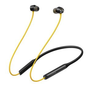 realme Buds Wireless Pro with Active Noise Cancellation (ANC) in-Ear Bluetooth Headphones with Mic (Yellow)