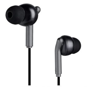 Zebronics Zeb-Bro in Ear Wired Earphones with Mic, 3.5mm Audio Jack, 10mm Drivers, Phone/Tablet Compatible