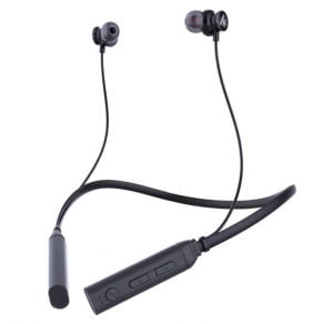 Maono AU-D30 BassCurve Neck Band in-Ear Bluetooth Wireless Earphones, with Bluetooth 5.0, Sweatproof Headphones, Long Life Battery, Flexible Headset and Built-in Mic
